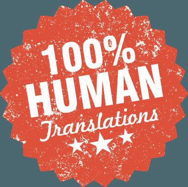 Human translations